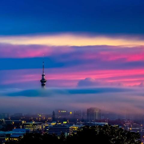 Winter Sunrise - Auckland